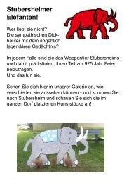 Booklet Elefanten