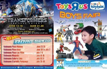 TOYSRUS CATALOG ends July 2017