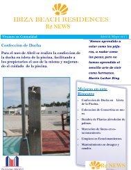Boletin Informativo IBIZA