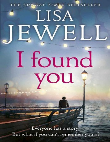 I Found You - Lisa Jewell
