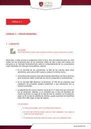 Lectura obligatoria 3 - Crear demanda