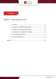 Lectura obligatoria 8 - Marketing Experiencial