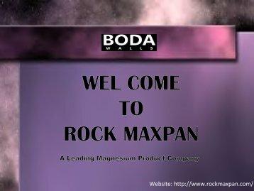 RockMax Magnesium Oxide Board