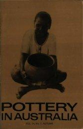 Pottery In Australia Vol 14 No 1 Autumn 1975