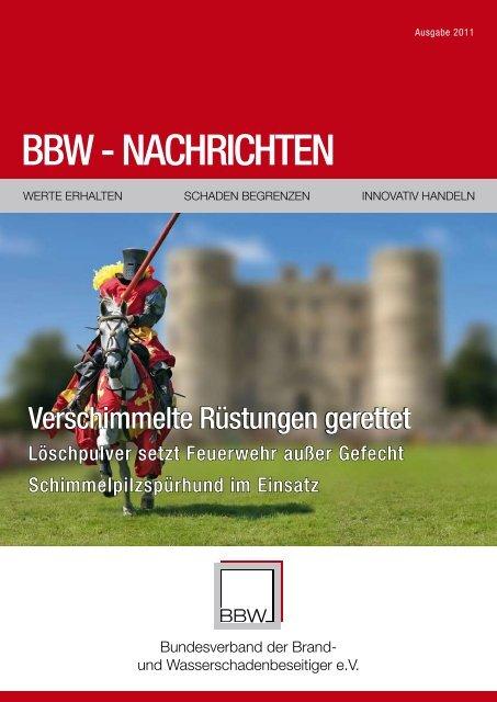 BBW - NACHRICHTEN - Ralf Liesner Bautrocknung GmbH & Co. KG