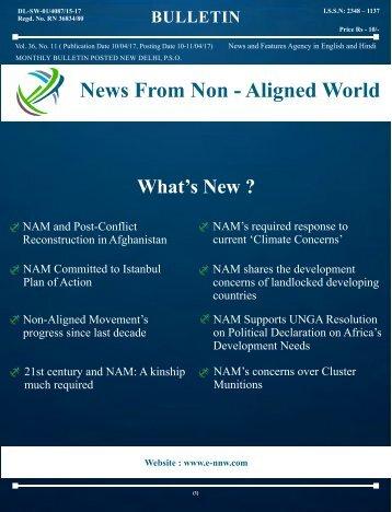 NNW - 10 April - 9 May 2017