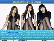 Hot Independent Escorts Services Available in Chennai