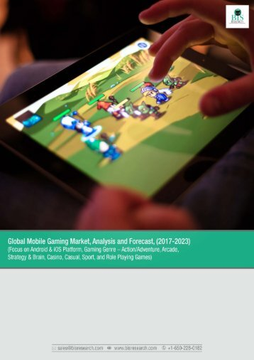 Global Mobile Gaming Market Research 2017-2023