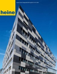 Zum Download der aktuellen Heine Info bitte hier - august heine ...