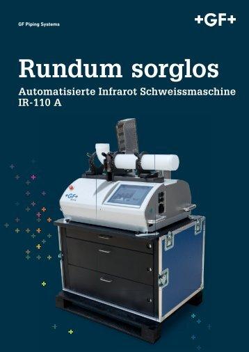 Rundum sorglos - Automatisierte Infrarot Schweissmaschine IR-110 A