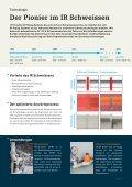 Rundum sorglos - Automatisierte Infrarot Schweissmaschine IR-110 A - Seite 6