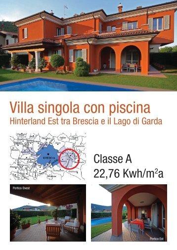 Villa singola con piscina Hinterland Est Brescia