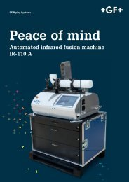 Peace of mind - Automated infrared fusion machine IR-110 A
