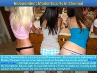 Independent Escorts Services Available in Chennai
