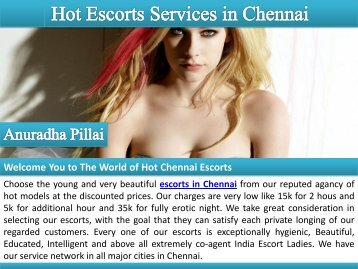 Sensual Meeting with Escorts in Chennai