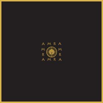 AMRA Skincare Brochure