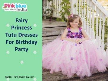 Baby Tutu Dresses for 1st Birthday | Flower Girl Party Dresses India