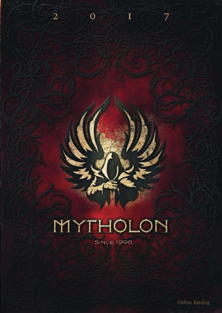 Mytholon Hauptkatalog 2017