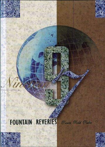 Georgia-Cumberland Academy - Fountain Reveries - 1997