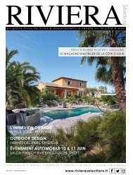 Riviera Sélections - Juin 2017
