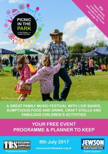 Picnic in the Park Programme 2017