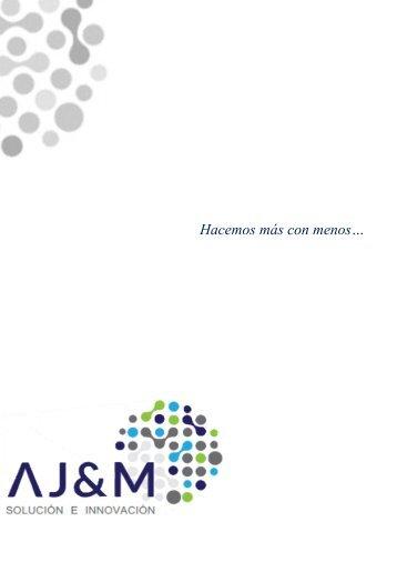 Portafolio de servicios AJ&M Solución e Innovación S.A