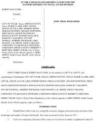 Kerry Cook Civil Rights suit