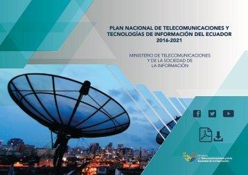 Plan de Telecomunicaciones y Tecnologías de Información del Ecuador 2016 - 2017