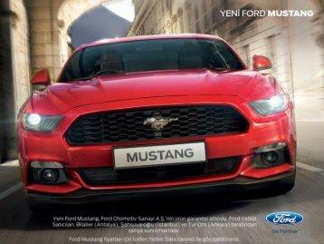 Subat 2017 - Mustang Fiyat Listesi