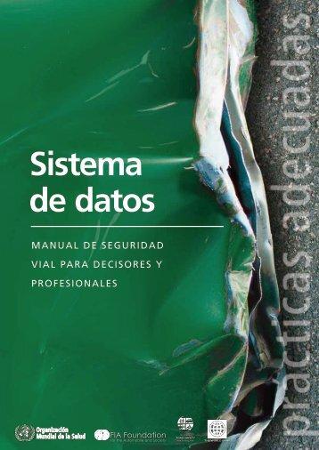 Sistema de datos - World Health Organization