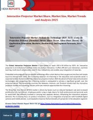 Interactive Projector Market Share, Market Size, Market Trends and Analysis 2025