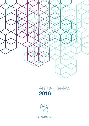 CERN & Society Foundation Annual Review 2016