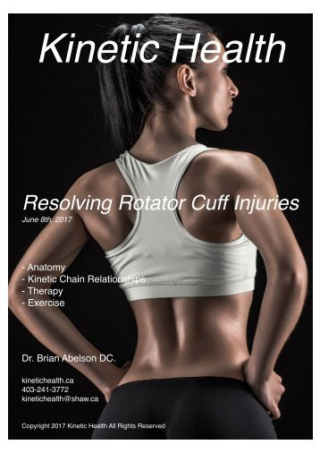 Rotator Cuff Magazine