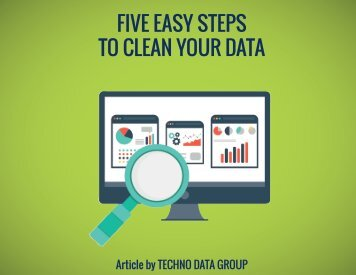 FIVE EASY STEPS TO CLEAN YOUR DATA