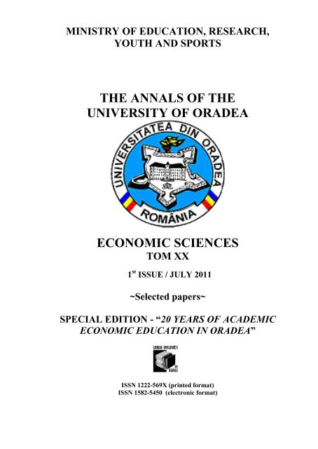 Selected Papers Special Edition Index Of