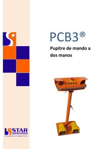 Catálogo Mando a dos manos (Pupitre Bimanual) PCB3 2017 Español_