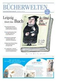 Bücherwelten - Sonderpublikation der Leipziger Volkszeitung zur Buchmesse Leipzig 2017