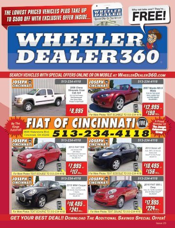Wheeler Dealer Issue 23, 2017