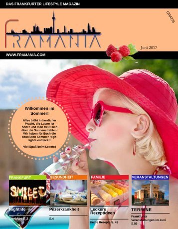 Framania Magazin Ausgabe Juni  2017
