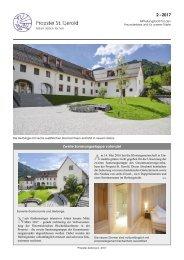Zeitung der Propstei St. Gerold 2017-2