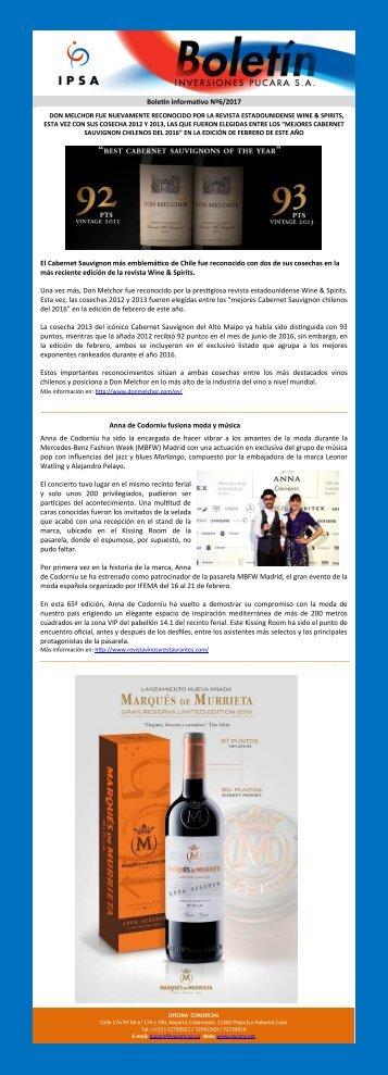 _Boletín informativo No.6_2017