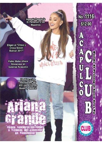 Revista Acapulco Club 1116