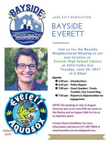 June 2017 Bayside Everett News