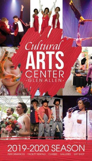 2017_2018 Season Brochure - The Cultural Arts Center at Glen Allen