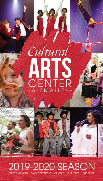 2018_2019 Season Brochure - The Cultural Arts Center at Glen Allen
