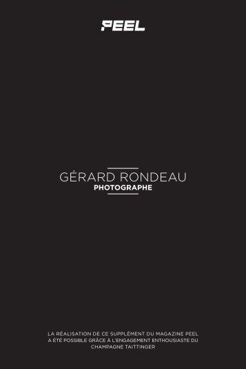 Portfolio Gérard Rondeau / supplément Peel 12