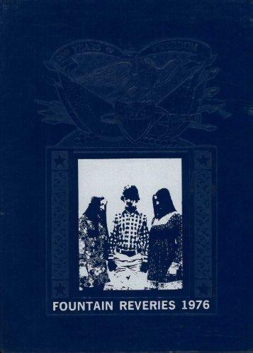 Georgia-Cumberland Academy - Fountain Reveries - 1976