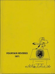 Georgia-Cumberland Academy - Fountain Reveries - 1971