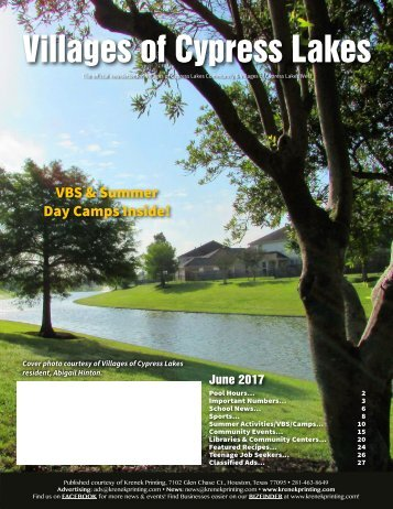 Villages of Cypress Lakes June 2017