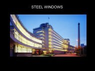 Steel Windows - Montanstahl AG